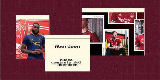 Aberdeen | Camiseta Aberdeen replica 2021 2022