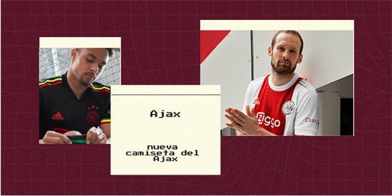 Ajax | Camiseta Ajax replica 2021 2022
