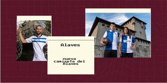 Alaves Camiseta   Camiseta Alaves replica 2021 2022