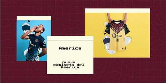 America   Camiseta America replica 2021 2022