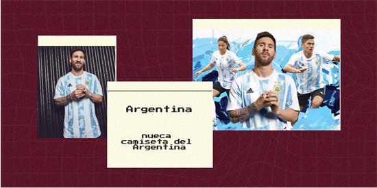 Argentina   Camiseta Argentina replica 2021 2022