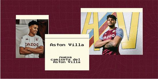 Aston Villa Camiseta | Camiseta Aston Villa replica 2021 2022