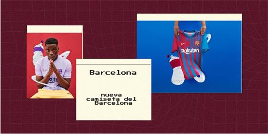 Barcelona Camiseta | Camiseta Barcelona replica 2021 2022