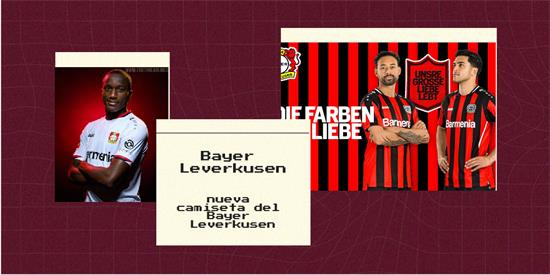 Bayer Leverkusen Camiseta | Camiseta Bayer Leverkusen replica 2021 2022