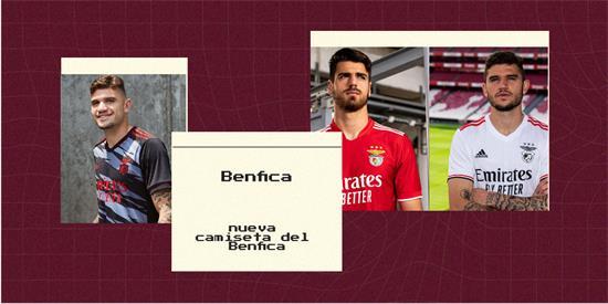 Benfica | Camiseta Benfica replica 2021 2022