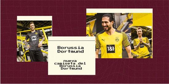 Borussia Dortmund Camiseta   Camiseta Borussia Dortmund replica 2021 2022