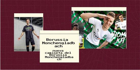 Borussia Monchengladbach Camiseta | Camiseta Borussia Monchengladbach replica 2021 2022