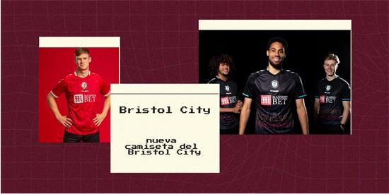 Bristol City Camiseta   Camiseta Bristol City replica 2021 2022