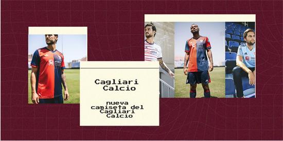 Cagliari Calcio Camiseta | Camiseta Cagliari Calcio replica 2021 2022