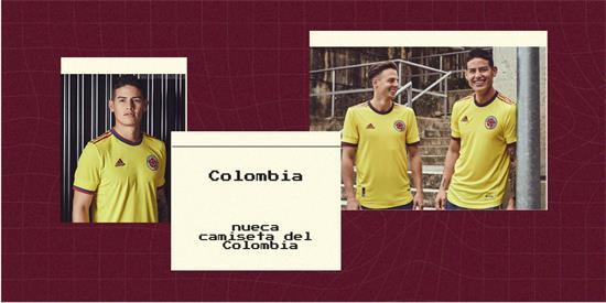 Colombia | Camiseta Colombia replica 2021 2022