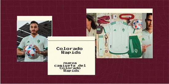 Colorado Rapids   Camiseta Colorado Rapids replica 2021 2022