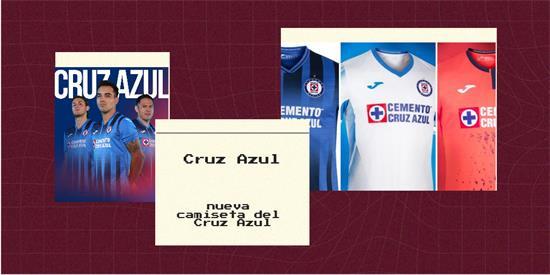 Cruz Azul   Camiseta Cruz Azul replica 2021 2022