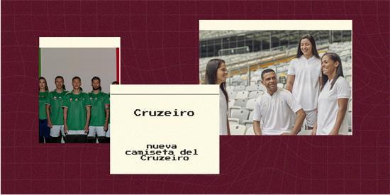 Cruzeiro   Camiseta Cruzeiro replica 2021 2022