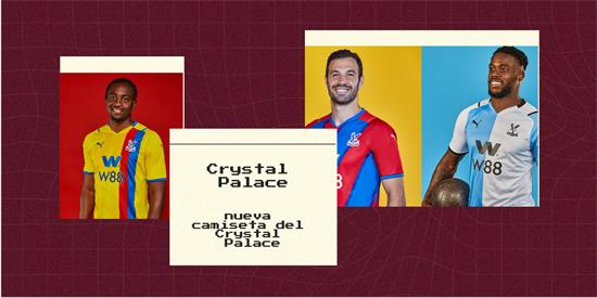 Crystal Palace Camiseta   Camiseta Crystal Palace replica 2021 2022