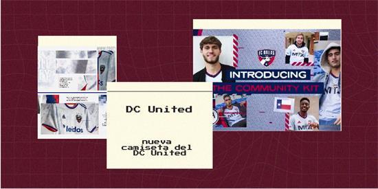 DC United   Camiseta DC United replica 2021 2022