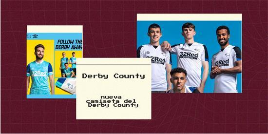 Derby County Camiseta   Camiseta Derby County replica 2021 2022