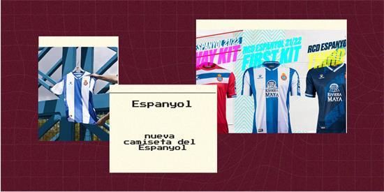 Espanyol Camiseta | Camiseta Espanyol replica 2021 2022