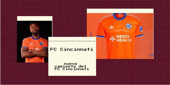 FC Cincinnati   Camiseta FC Cincinnati replica 2021 2022