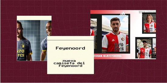 Feyenoord   Camiseta Feyenoord replica 2021 2022