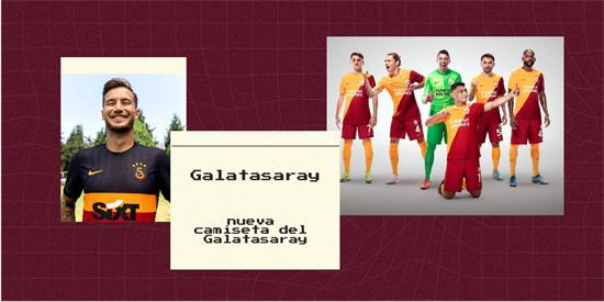 Galatasaray   Camiseta Galatasaray replica 2021 2022