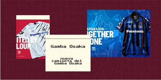 Gamba Osaka   Camiseta Gamba Osaka replica 2021 2022
