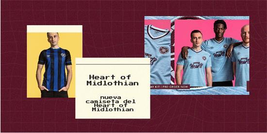 Heart of Midlothian   Camiseta Heart of Midlothian replica 2021 2022