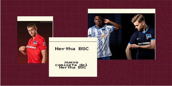 Hertha BSC Camiseta | Camiseta Hertha BSC replica 2021 2022