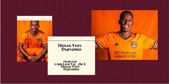 Houston Dynamo | Camiseta Houston Dynamo replica 2021 2022