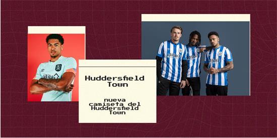 Huddersfield Town Camiseta | Camiseta Huddersfield Town replica 2021 2022