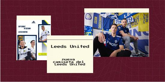 Leeds United Camiseta | Camiseta Leeds United replica 2021 2022
