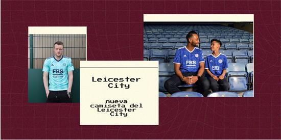 Leicester City Camiseta | Camiseta Leicester City replica 2021 2022