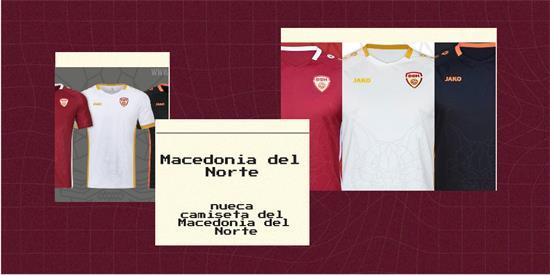 Macedonia del Norte   Camiseta Macedonia del Norte replica 2021 2022