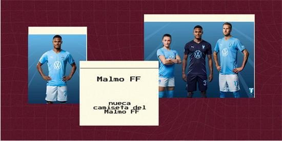 Malmo FF   Camiseta Malmo FF replica 2021 2022