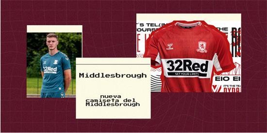 Middlesbrough Camiseta | Camiseta Middlesbrough replica 2021 2022
