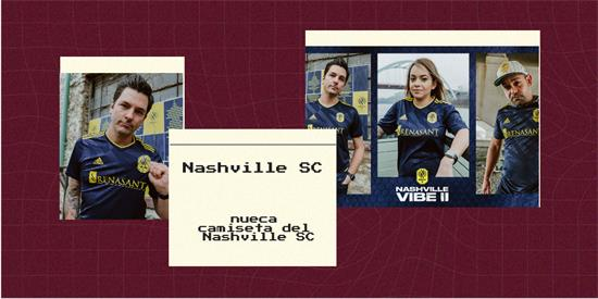 Nashville SC   Camiseta Nashville SC replica 2021 2022