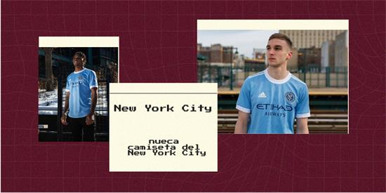 New York City   Camiseta New York City replica 2021 2022