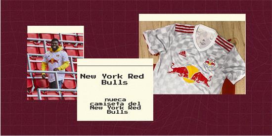 New York Red Bulls | Camiseta New York Red Bulls replica 2021 2022