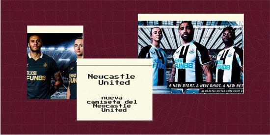 Newcastle United Camiseta | Camiseta Newcastle United replica 2021 2022