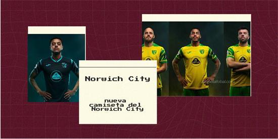 Norwich City Camiseta | Camiseta Norwich City replica 2021 2022