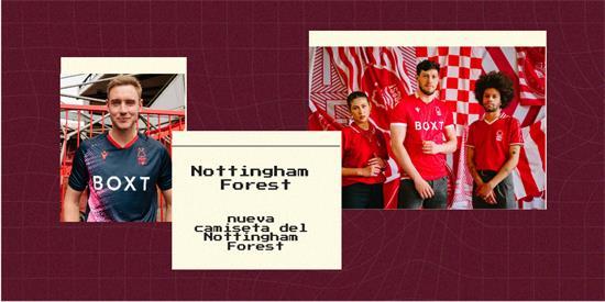 Nottingham Forest Camiseta | Camiseta Nottingham Forest replica 2021 2022