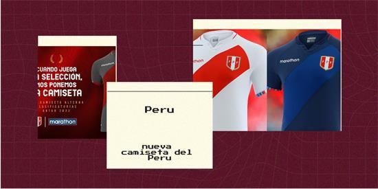 Peru | Camiseta Peru replica 2021 2022