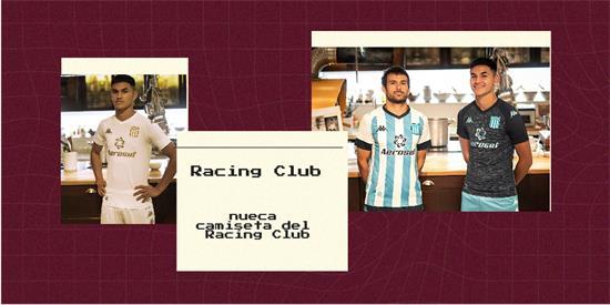 Racing Club | Camiseta Racing Club replica 2021 2022