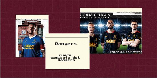 Rangers   Camiseta Rangers replica 2021 2022
