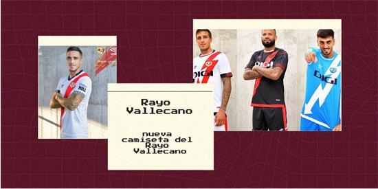 Rayo Vallecano Camiseta | Camiseta Rayo Vallecano replica 2021 2022