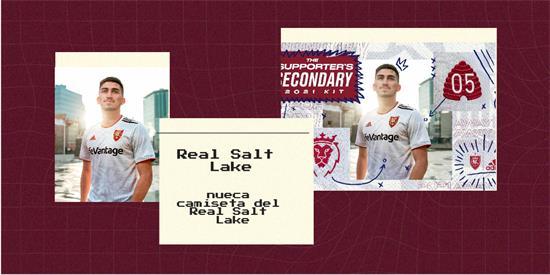 Real Salt Lake   Camiseta Real Salt Lake replica 2021 2022