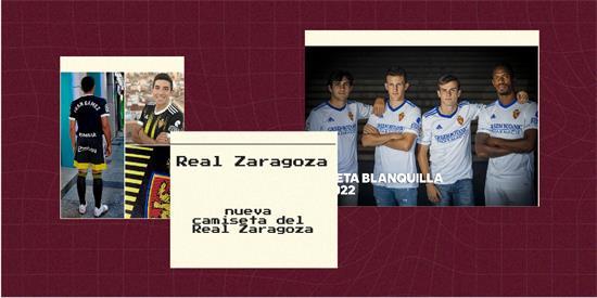 Real Zaragoza Camiseta | Camiseta Real Zaragoza replica 2021 2022