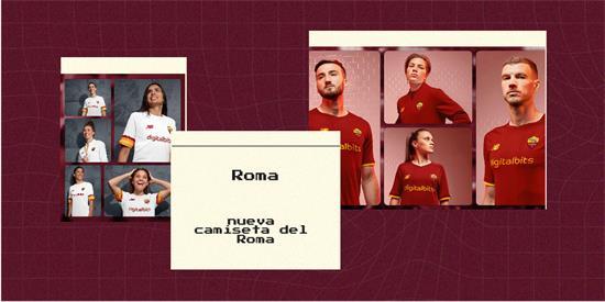 Roma | Camiseta Roma replica 2021 2022