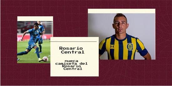 Rosario Central   Camiseta Rosario Central replica 2021 2022
