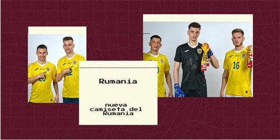 Rumania | Camiseta Rumania replica 2021 2022