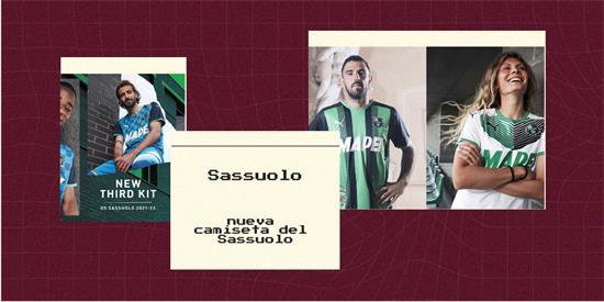 Sassuolo   Camiseta Sassuolo replica 2021 2022